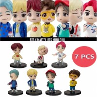 ACTION FIGURE BTS BT21 ARMY BANGTAN BOYS KPOP IDOL MODEL TOPPER CAKE