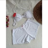 Bikini set bra celana ikat baju renang pantai swimwear wanita 3306