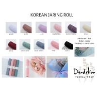 KOREAN JARING ROLL (1 ROLL)/ FLOWER WRAP/ PEMBUNGKUS BUNGA