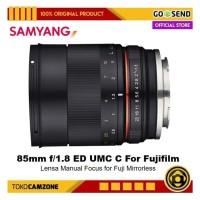 Samyang 85mm f/1.8 Lens for Fujifilm X-Series X-A3 X-A5 X-A20 X-T100