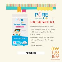 Pure Kids Fever Free Cooling Patch READY MANADO