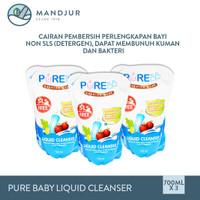 Pure Baby Combo Liquid Cleanser 700 mL - Pembersih Perlengkapan Bayi