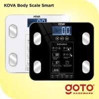 Kova BMI Timbangan Badan Digital Body Fat Mass Monitor Analysis 180 Kg