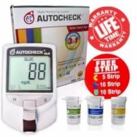 Autocheck 3in1 - Alat Autocheck Alat Test 3 Fungsi Alat test Darah