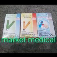 paket Refill Strip Gula Kolesterol asam urat Easy touch easytouch