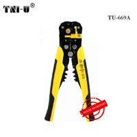 TU-669A Professional Electrical Cable Stripping Crimping Tool Wire