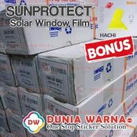 Sunprotect Kaca Film Mobil / Gedung Anti Gores Riben Smoke AG GR Roll