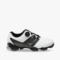 Mizuno SPIKE VALOUR 004 BOA Men's Golf Shoes - White