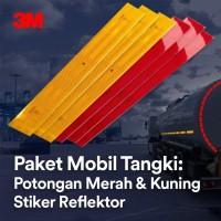 3M Diamond Grade Conspicuity Stiker Reflektor – Paket Mobil Tangki