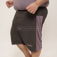 Shorty Pants Grey Celana Big Size Jumbo XXL XXXL WGB - XL