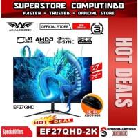 Armaggeddon Pixxel+ Elite EF27QHD 2K QHD 27 Gaming Monitor 75hz 5Ms