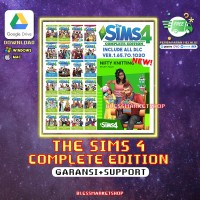 The sims 4 PC Complete Edition Full DLCs + ALL Expansion - KHUSUS MAC