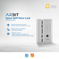 ARBIT - Smart Home WiFi Door Lock Without Handle Fingerprint TUYA