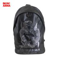 Skinarma - Karasu Backpack / Leather Bag / Tas Kulit - Black
