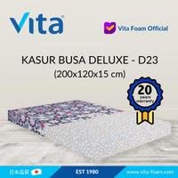 Kasur Busa Vita (200x120x15cm) Type Deluxe - Japan Quality