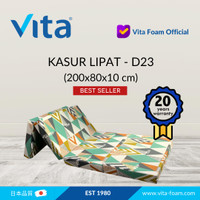 Kasur Lipat Vita (200x80x10cm) - Japan Quality