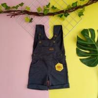 baju kodok anak 1 2 3 4 5 tahun overall anak pendek merk mybee navi