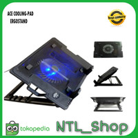 ACE COOLING-PAD ERGOSTAND MEJA LAPTOP 12-15inch