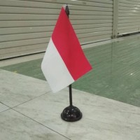 Bendera Meja Negara Indonesia Bendera Meja Merah Putih Indonesia Plus