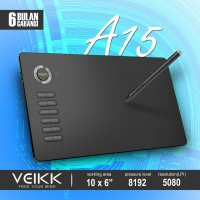 Veikk A15 Digital Graphic Drawing Pen Tablet