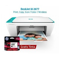 Printer HP 2677 All in One Wifi (Print,Scan,Copy)