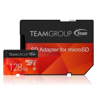 Team Color Micro SDXC 128GB UHS-II Xtreem (250MB) Retail W/Red Adapter