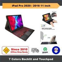 iPad Pro 2018 11 Inch Casing Keyboard Backlit Case Stylus