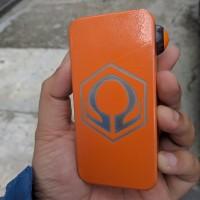 Hexohm V3 powdercoat Orange