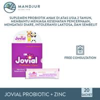 Jovial Probiotic Plus Zinc - Suplemen Pencernaan Khusus Anak