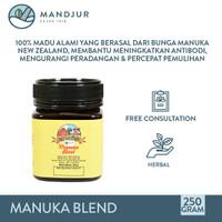 Manuka Honey Blend Hillary Farm 250 Gram - 100 % Madu Manuka Asli