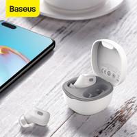 BASEUS TRUE WIRELESS BLUETOOTH EARPHONE MINI EARBUDS TWS WM01 - Putih