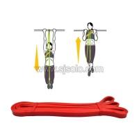 Resistance Band Loop Merah 1.3cm Tali Yoga Karet Elastis Fitness Gym
