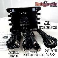 Soundcard Sound Card Audio Interface XOX KS108 KS 108 KS10 Original