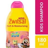 Zwitsal Kids Shampoo Soft & Moisturizing Shampo Anak Perempuan 180 ml