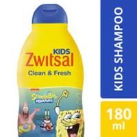 Zwitsal Kids Shampoo Clean & Fresh Shampo Anak Laki Laki 180 ml