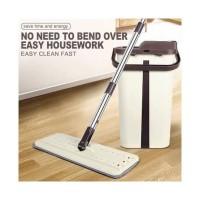 alat pel lantai mop/lab lantai praktis/pembersih lantai mop