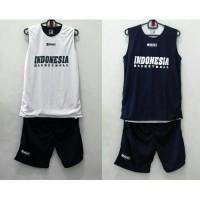 Jual Baju Basket XXL Training Jersey Bolak Balik Indonesia Basketball