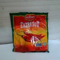 Paket 3 Pack isi 72 Sachet Saus Delmonte Saos Sambal Sachet Extra Hot
