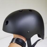 PROMO !!! Helm Sepeda Batok Hitam Doff | Helem Gowes Rafting Outbond