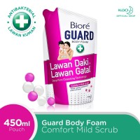 Biore Guard Body Foam Comfort Mild Pouch 450ml