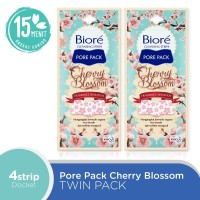 Biore Pore Pack Cherry Blossom Twinpack