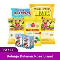 Paket Belanja Bulanan Rose Brand