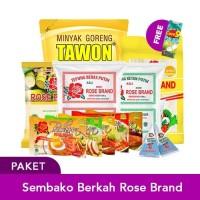Paket Sembako Berkah Rose Brand