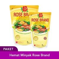 Paket Hemat Minyak Rose Brand