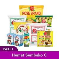 Paket Hemat Sembako C (Rose Brand)