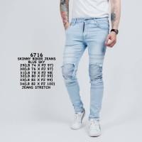 Biker Jeans /Skinny Jeans Pria /Celana Jeans Pria