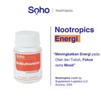 Sulbutiamine 15 Kapsul - Energi Otak, Focus & Mood - Nootropics