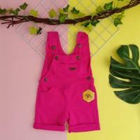 baju kodok anak 1 2 3 4 5 tahun overall anak pendek merk mybee fanta