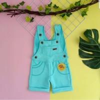 baju kodok anak 1 2 3 4 5 tahun overall anak pendek merk mybee tosca