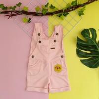 baju kodok anak 1 2 3 4 5 tahun overall anak pendek merk mybee babypi